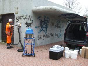Čišćenje betona, primjer 1