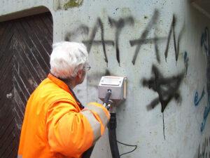 Čišćenje betona, primjer 2