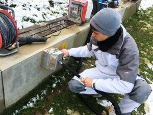 Čišćenje betona, primjer 4
