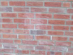 Čišćenje ciglene fasade, primjer 2