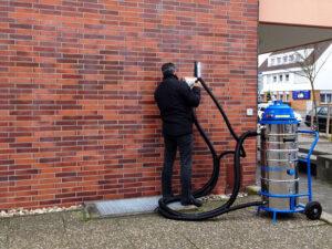 Čišćenje ciglene fasade, primjer 7