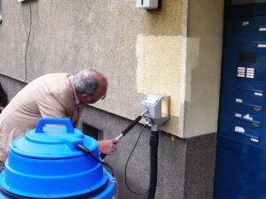 Čišćenje fasada s termo izolacijom, primjer 2