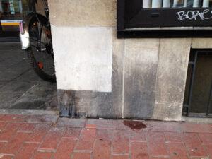 Čišćenje fasade na pješčenjaku, primjer 4