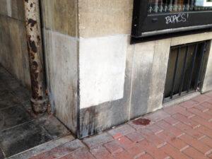 Čišćenje fasade na pješčenjaku, primjer 5