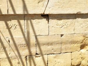 Čišćenje fasade od prirodnog kamena, primjer 2