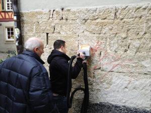 Čišćenje fasade od prirodnog kamena, primjer 7