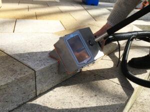Čišćenje granitnog poda, primjer 3
