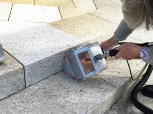 Čišćenje granitnog poda, primjer 4