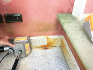 Čišćenje granitnog poda, primjer 6