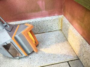 Čišćenje granitnog poda, primjer 7
