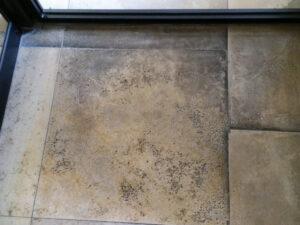 Čišćenje kamenih podova, primjer 2