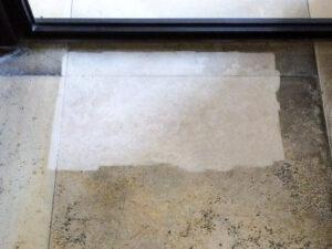 Čišćenje kamenih podova, primjer 4
