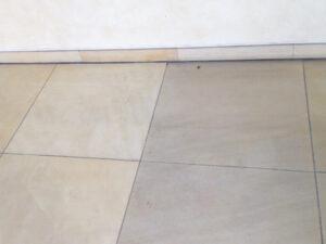 Čišćenje poda od prirodnog kamena, primjer 2