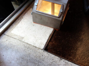 Čišćenje poda od prirodnog kamena, primjer 3