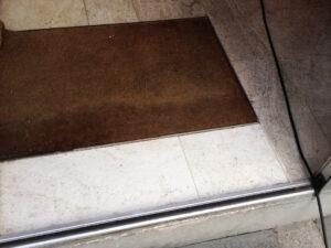 Čišćenje poda od prirodnog kamena, primjer 4