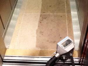 Čišćenje poda od prirodnog kamena, primjer 5