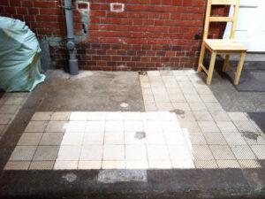 Čišćenje podnih pločica, primjer 1
