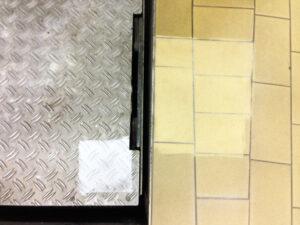 Čišćenje podnih pločica, primjer 13