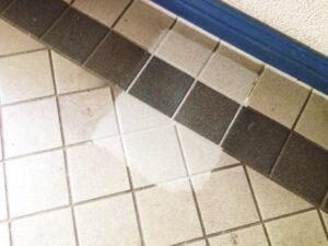 Čišćenje podnih pločica, primjer 5