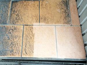 Čišćenje podnih pločica, primjer 8