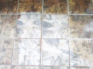 Čišćenje podnih pločica, primjer 9