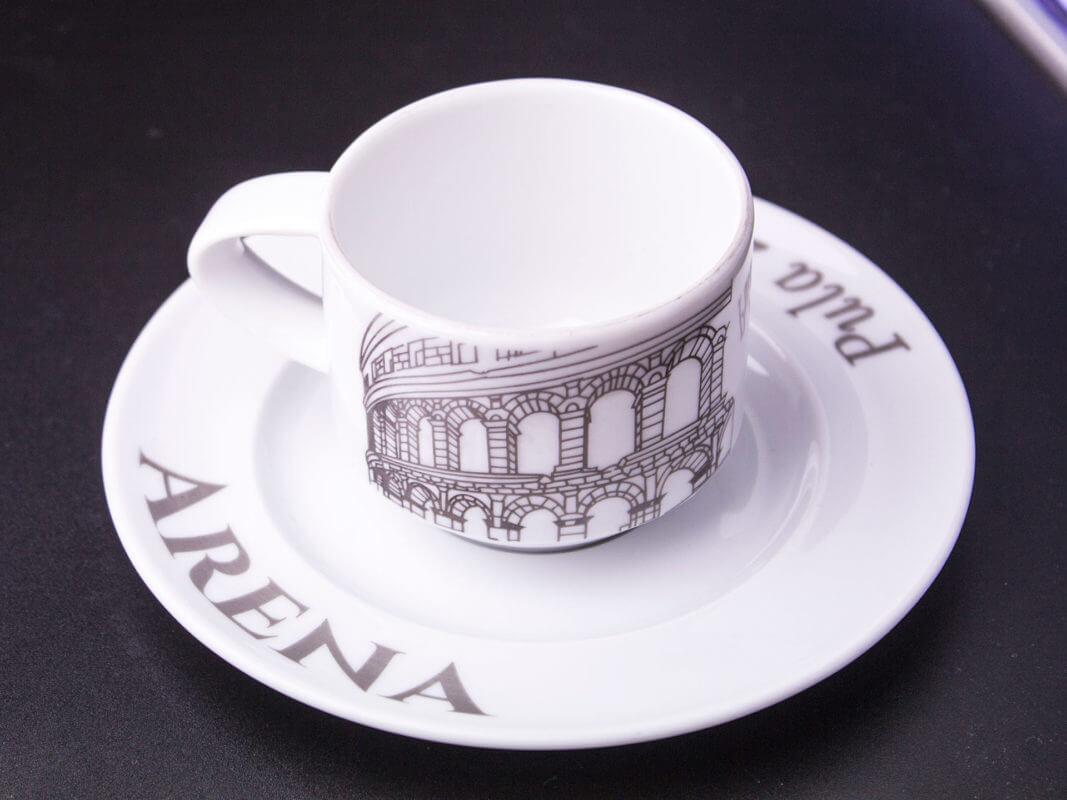 Pjeskarenje na gotove proizvode, Keramika, primjer 2