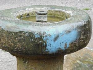 Posebno čišćenje bronce, primjer 1