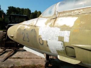 Skidanje boje sa zrakoplova, primjer 3