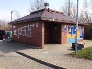 Uklanjanje grafita na autocestama, primjer 1