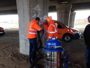 Uklanjanje grafita na autocestama, primjer 10