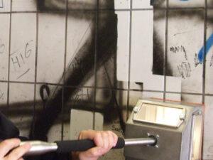 Uklanjanje grafita na autocestama, primjer 3