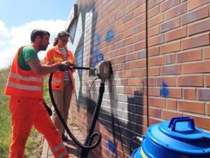 Uklanjanje grafita na autocestama, primjer 5