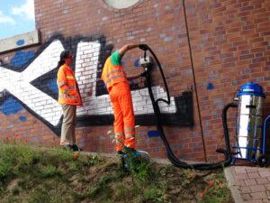 Uklanjanje grafita na autocestama, primjer 6