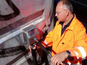 Uklanjanje grafita na autocestama, primjer 9