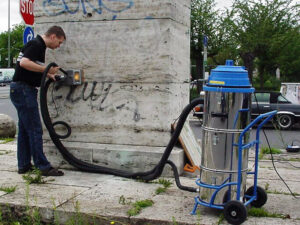 Uklanjanje grafita s baštine, primjer 2
