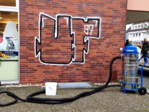 Uklanjanje grafita s cigle, primjer 6