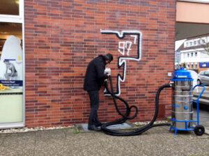 Uklanjanje grafita s cigle, primjer 7