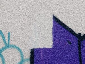 Uklanjanje grafita s gipsa, primjer 3