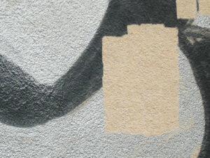 Uklanjanje grafita s gipsa, primjer 4