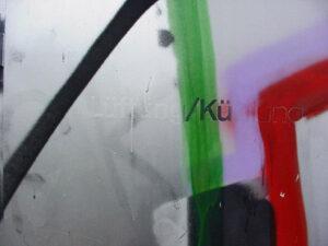 Uklanjanje grafita s obojene površine, primjer 9