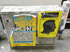 Uklanjanje grafita s plastike, primjer 2
