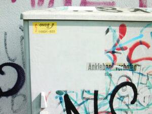 Uklanjanje grafita s plastike, primjer 6