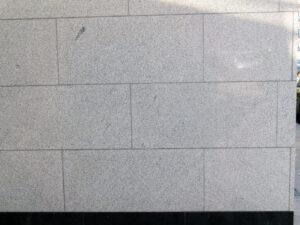 Uklanjanje grafita s prirodnog kamena, primjer 10