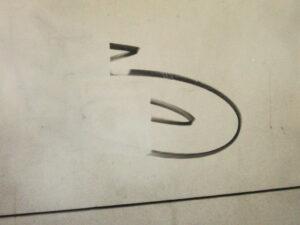 Uklanjanje grafita s prirodnog kamena, primjer 5
