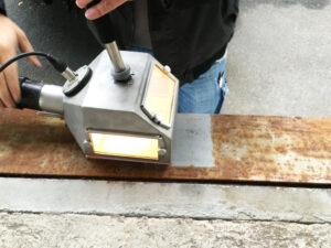 Uklanjanje hrđe s metala, primjer 2