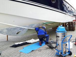 Uklanjanje laka na brodovima, primjer 6
