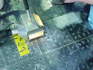 Uklanjanje oznaka na podu, primjer 2
